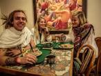ISKCON Tallahassee, Hare Krishna vegetarian buffet 02.jpg