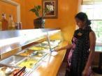ISKCON Tallahassee, Hare Krishna vegetarian buffet 03.jpg
