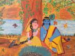 Radha Krishna - modern paintings 14.jpg