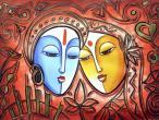 Radha Krishna - modern paintings 142.jpg