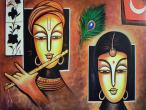 Radha Krishna - modern paintings 149.jpg