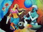 Radha Krishna - modern paintings 163.jpg