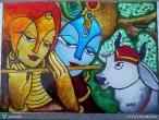 Radha Krishna - modern paintings 30.jpg