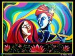Radha Krishna - modern paintings 38.jpg