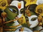 Radha Krishna - modern paintings 87.jpg