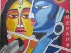 Radha Krishna - modern paintings 91.jpg