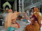Krishna Balarama temple - Prabhupada samadhi 01.jpg