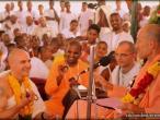 Thiruvananthapuram Vyasa puja, Bhakti Vikas Swami 03.jpg