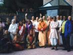 Lokanatha Swami with devotees.jpg