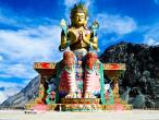 Maitreya Buddha at Diskit monastery.jpg