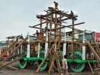 Making  Rath Yatra Chariots 02.jpg