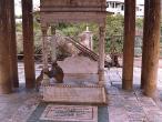 Sevakunj temple throne.jpg